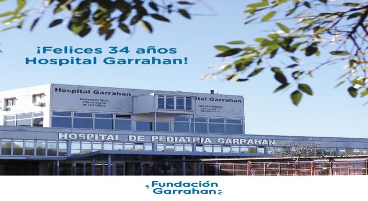¡Felices 34 años querido hospital! 25/08/2021